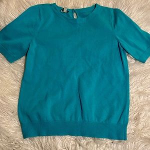 Blue Talbots t-shirt